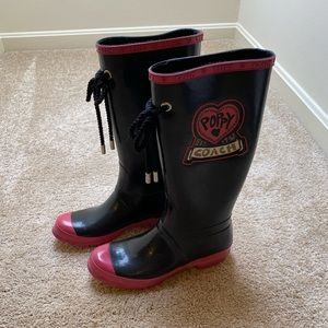 Coach Poppy Rainboots